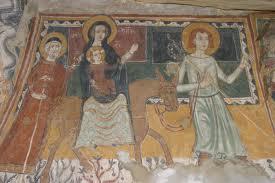 Sant'Antuono Gli splendidi affreschi della cripta di Oppido (XIV secolo), gioiello di pittura rupestre.